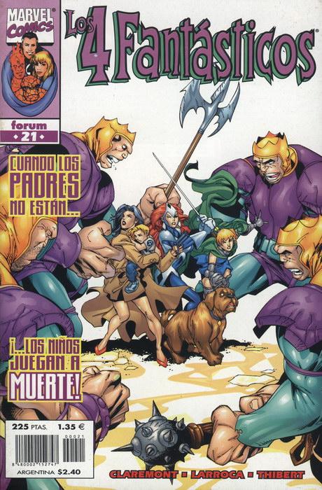 Los 4 Fantásticos Vol.3 #21 (de 34)
