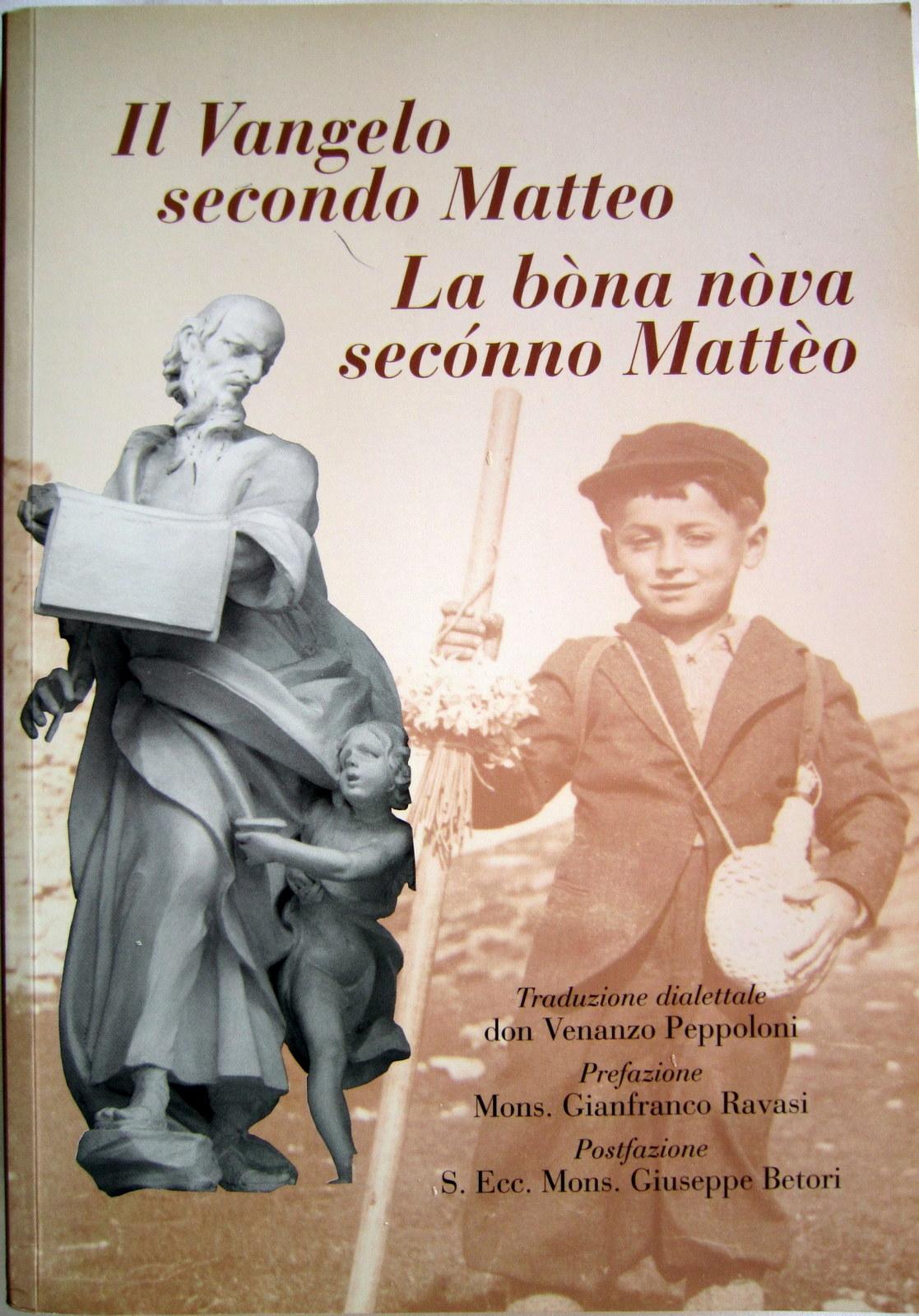 Il Vangelo secondo Matteo - La bòna nòva secónno Mattèo