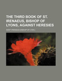 The Third Book of St...