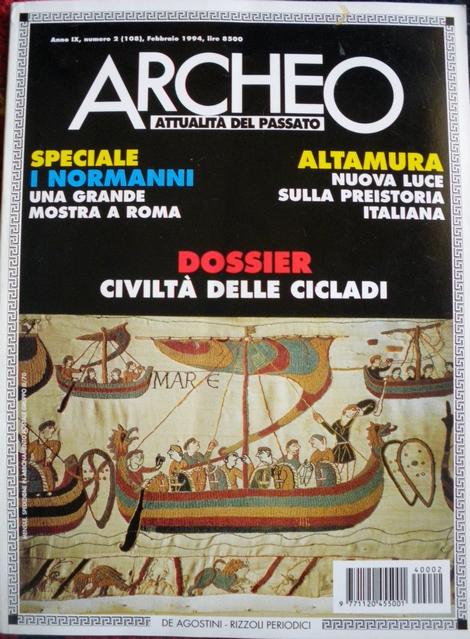 Archeo attualità del passato n. 108