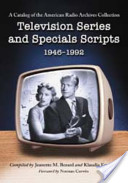Television Series and Specials Scripts, 1946-1992
