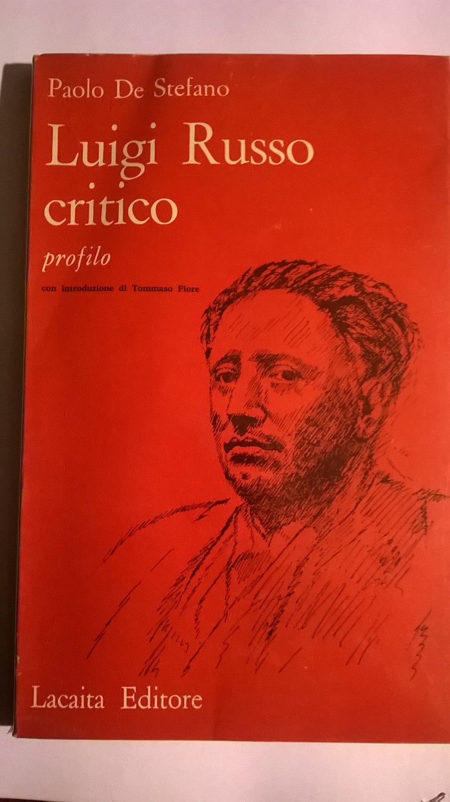 Luigi Russo critico