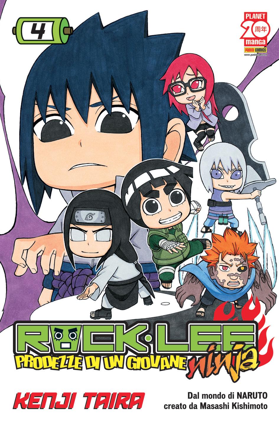 Rock Lee - Prodezze di un giovane ninja vol. 4