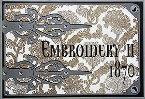 Embroidery - Vol. 2