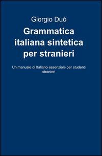 Grammatica italiana sintetica per stranieri