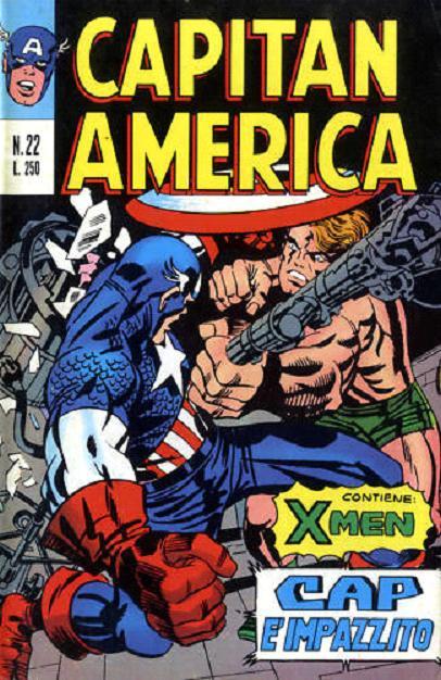 Capitan America n. 22