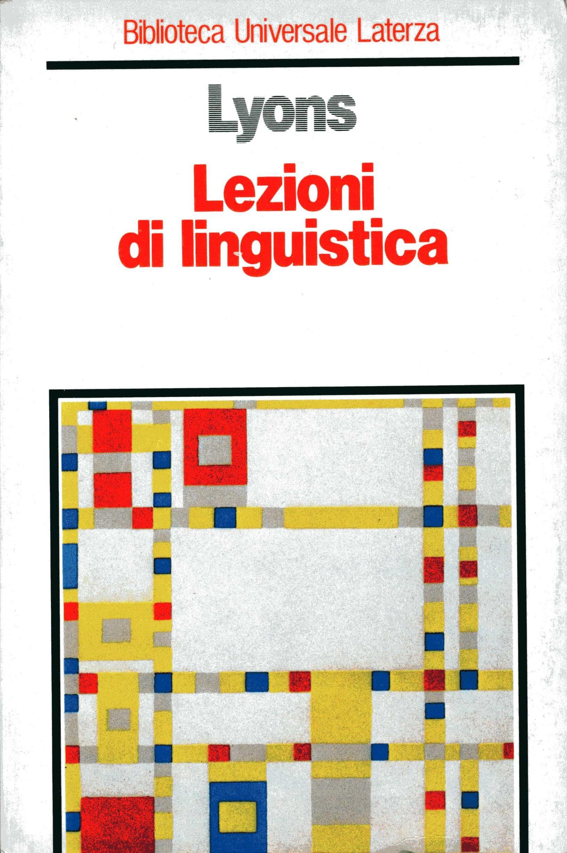 Lezioni di linguistica