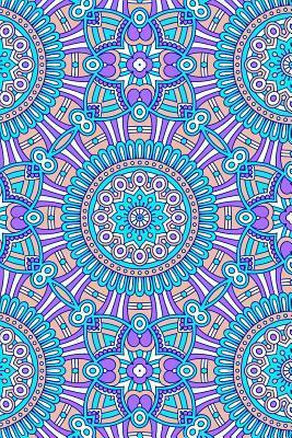Journal Notebook Mandalas Pattern 9