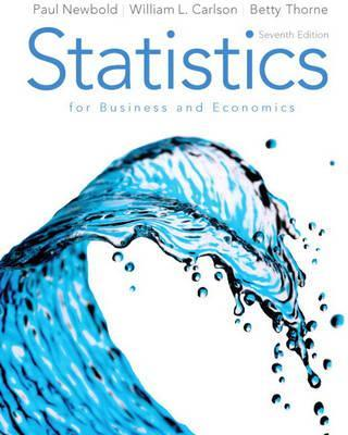 Statistics for Business and Economics + Mathxl Student Access Card