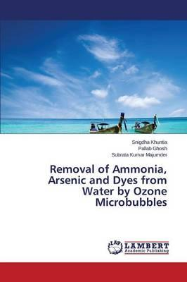 Removal of Ammonia, Arsenic and Dyes from Water by Ozone Microbubbles