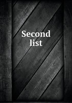 Second List