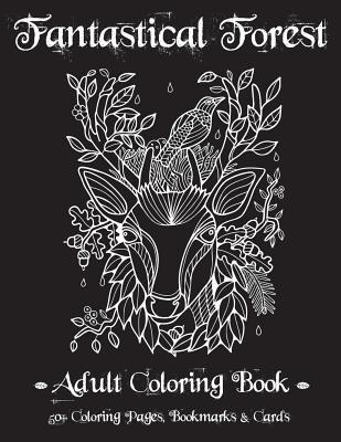Fantastical Forest Adult Coloring Book