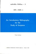 An Introductory Bibliography for the Study of Scripture