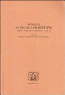 Spinoza: Ricerche e prospettive