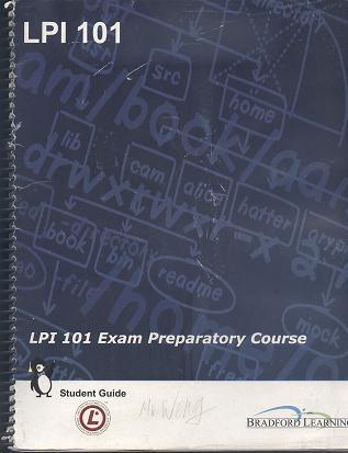 LPI 101 Exam Preparatory Course