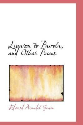 Leparon to Pavola, and Other Poems