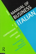 Manual of Business Italian