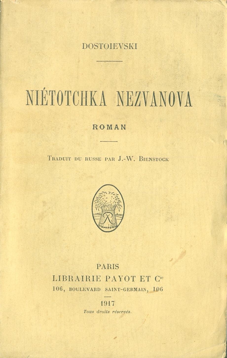 Nietotchka Nezvanova