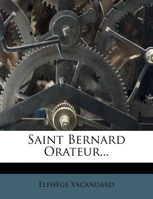 Saint Bernard Orateur...