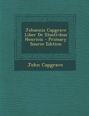 Johannis Capgrave Li...
