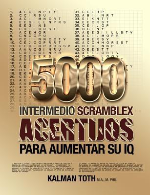 5000 Intermedio Scramblex Acertijos Para Aumentar Su IQ