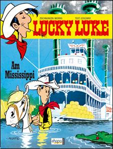 lucky luke risalendo il mississipi