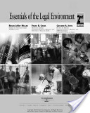 e-Study Guide for: Essentials of Legal Environment by Miller Miller, ISBN 9780324641233