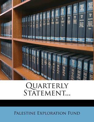 Quarterly Statement....