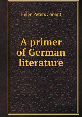 A Primer of German Literature
