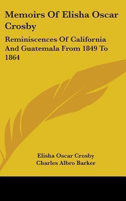 Memoirs of Elisha Oscar Crosby