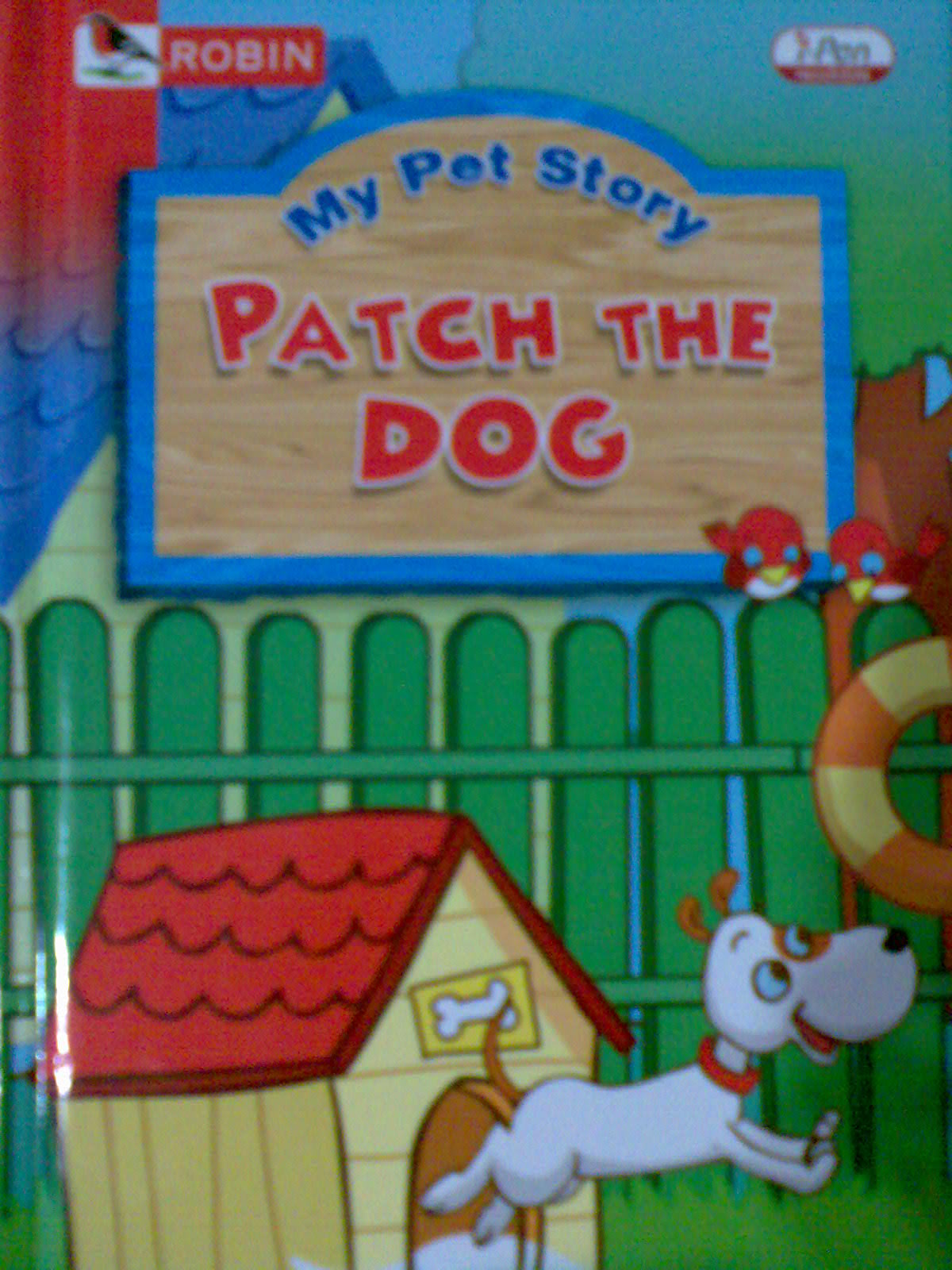 Patch the dog