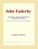 John Enderby (Webster's Chinese Simplified Thesaurus Edition)