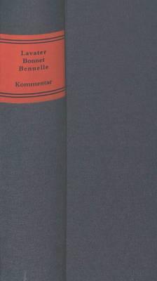 Johann Kaspar Lavater - Charles Bonnet - Jacob Bennelle