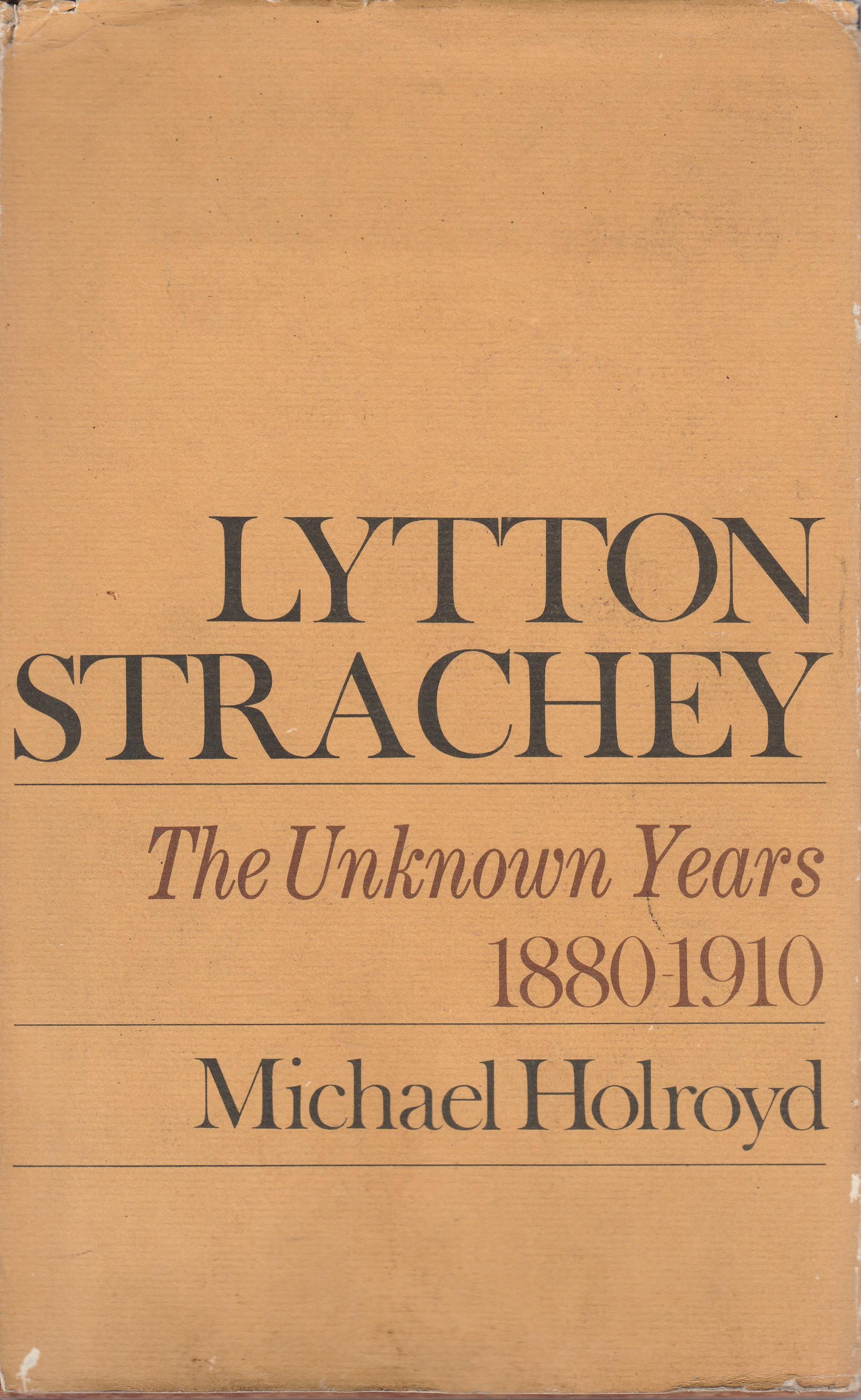 Lytton Strachey