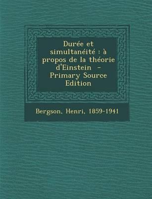 Duree Et Simultaneite