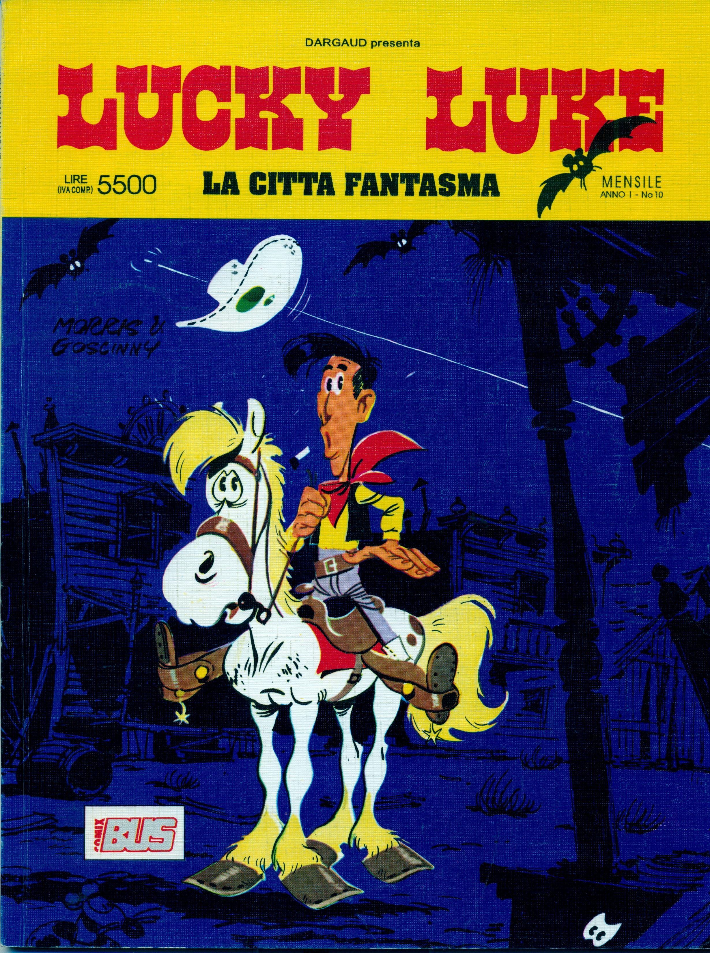 Lucky Luke - La città fantasma