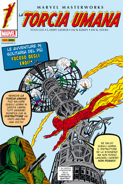 Marvel Masterworks: La Torcia Umana vol. 1