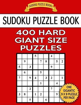 Sudoku Puzzle Book 400 HARD Giant Size Puzzles