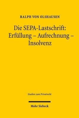 Die Sepa-lastschrift