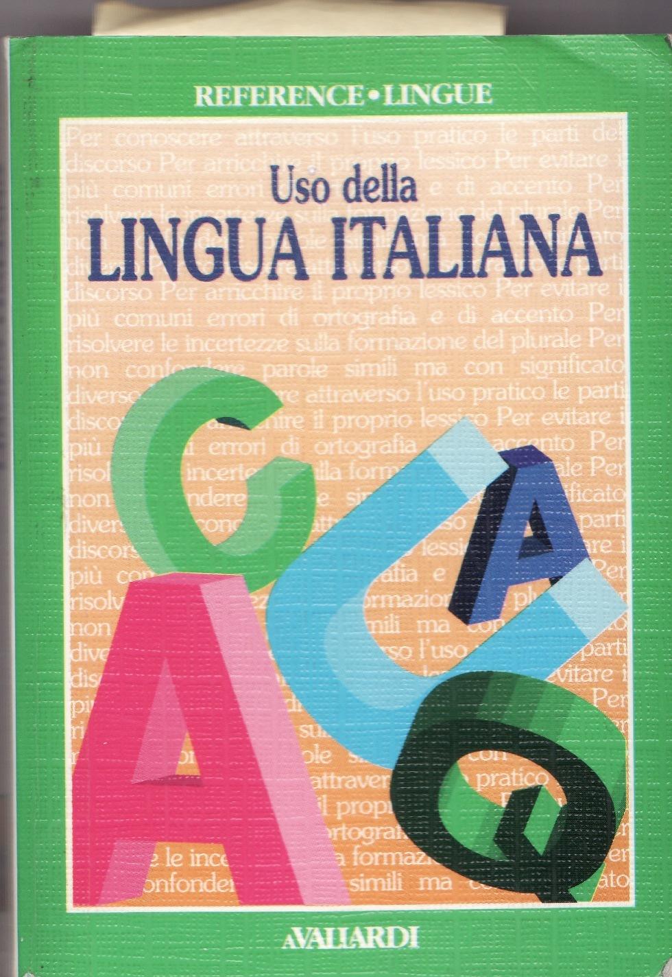 Uso della lingua italiana