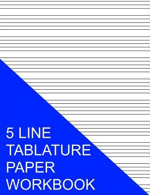 5 Line Tablature Pap...
