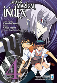 A Certain Magical Index vol. 4