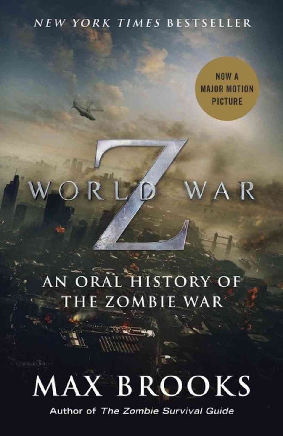 the use of primary sources in world war z an apocalyptic horror novel by max brooks Bite and release that's the new motive of the hungry undead in marc forster's expensive adaptation of max brooks' world war z it's also the tactic of the film itself, that wastes no time throwing summer movie audiences into an apocalyptic, globe-trotting adventure that bears little resemblance to its source material.