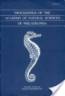 Proceedings of The Academy of Natural Sciences (Vol. 139, 1987)