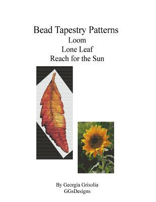 Bead Tapestry Patterns Loom Lone Leaf Reach for the Sun
