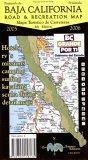 Baja California Road & Recreation Map