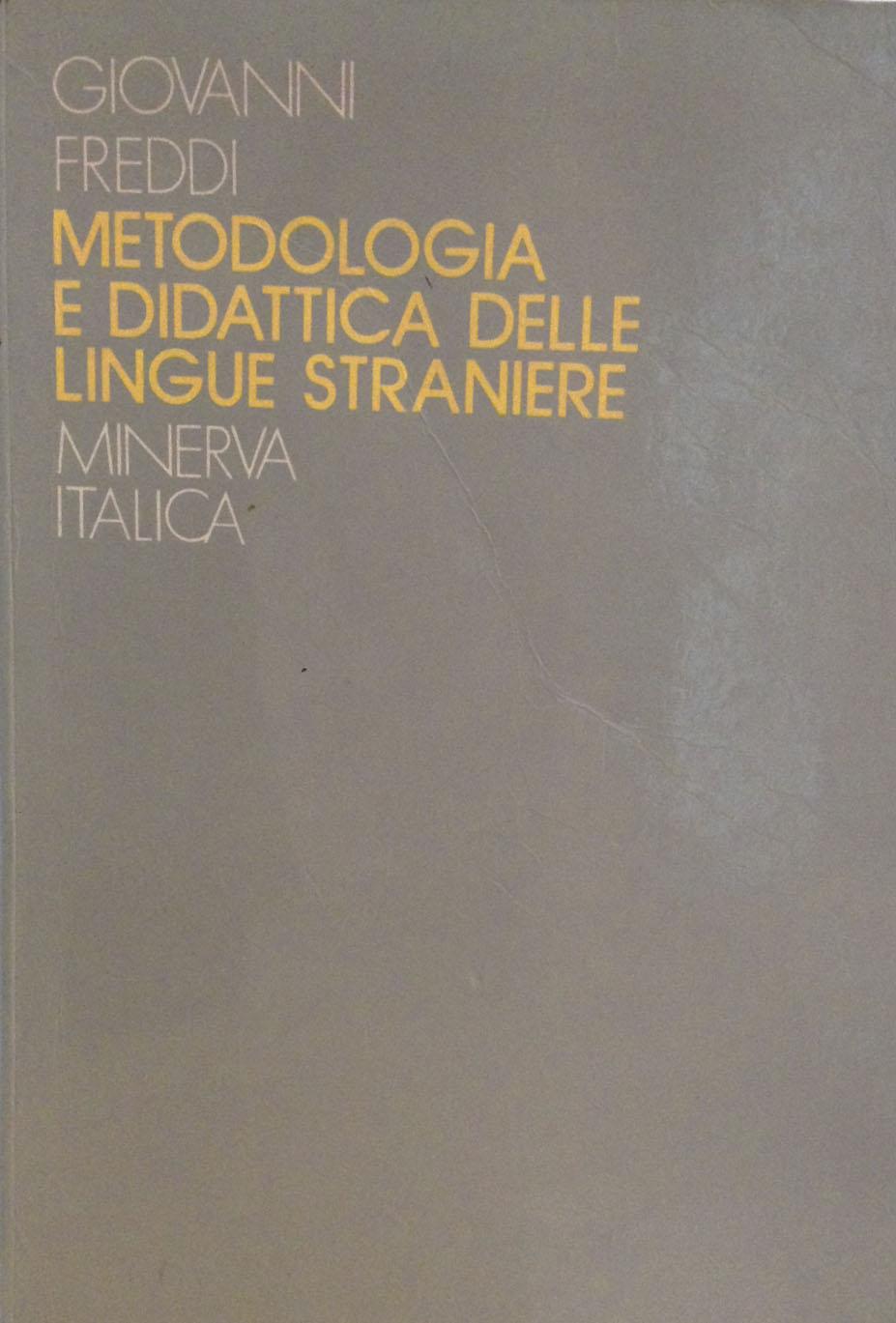 Metodologia e didattica delle lingue straniere