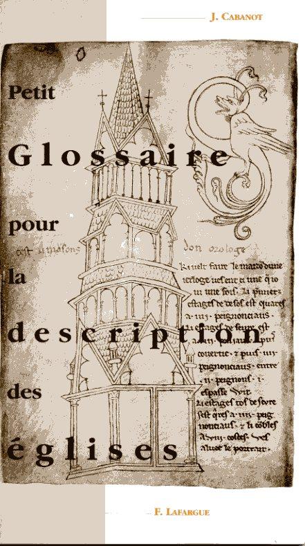 Petit glossaire pour la description des eglises