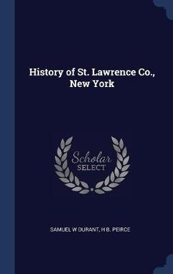 History of St. Lawrence Co., New York