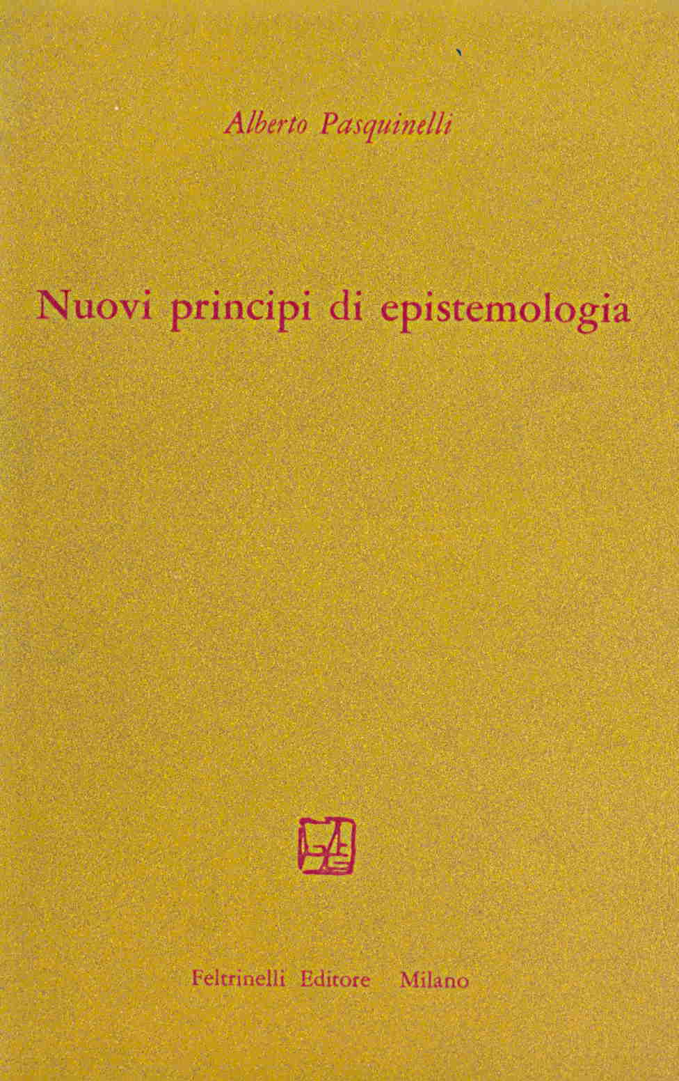 Nuovi principi di epistemologia